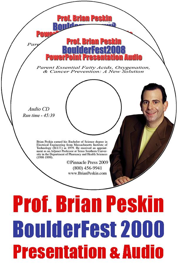 BoulderFest 2008 Lecture 2-CD Set